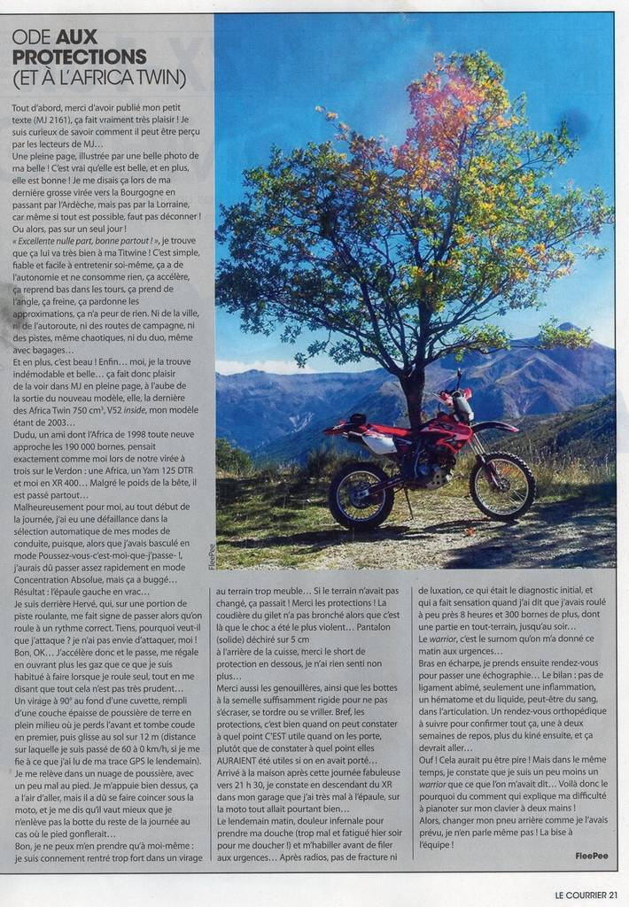 Moto Journal du 15 Mai 2014